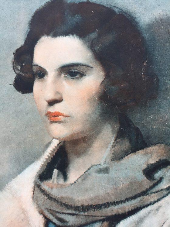 Guirand de Scévola, La femme à l'écharpe