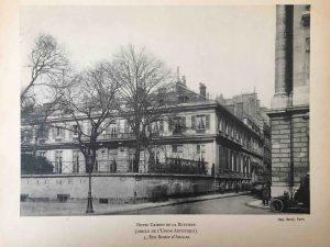 guirand de scevola hotel grimod de la reyniere cercle union artistique