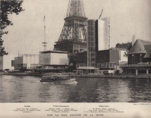 guirand de scevola pavillons exposition universelle illustration